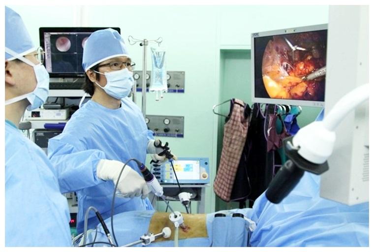 홍성후 교수 전립선암 수술